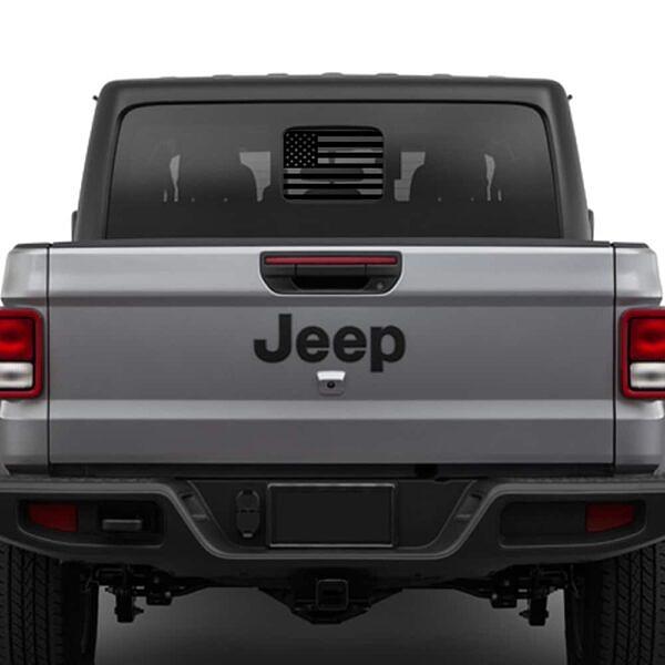 Jeep-wrangler-JL-Jeep-truck-JT-rear-window-usa-flag-decal