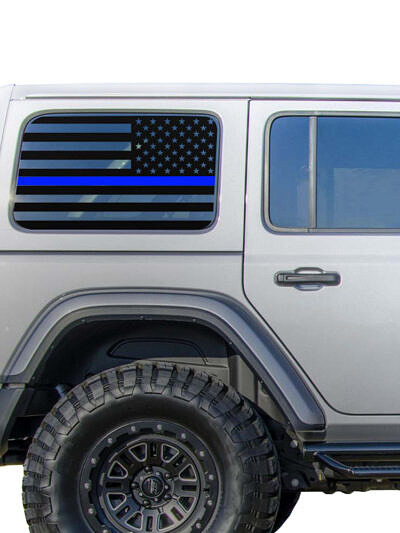 rear-window-usa-flag-jeep-wrangler-jl-dual-pair-leo-police-thin-blue-line-tbl